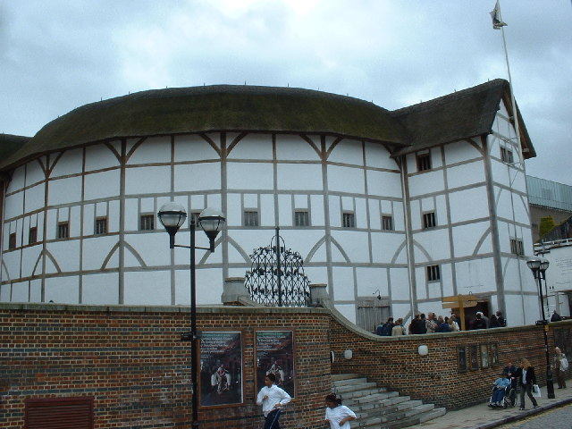 shakespeare and the globe theatre essay Shakespeare's troupe had been performing in an additional theater over the river (called simply the theatre), but because of the high cost of leasing the land on that the theatre was located, it was dismantled the pieces were moved over the river and reassembled, then dubbed the globe theatre.