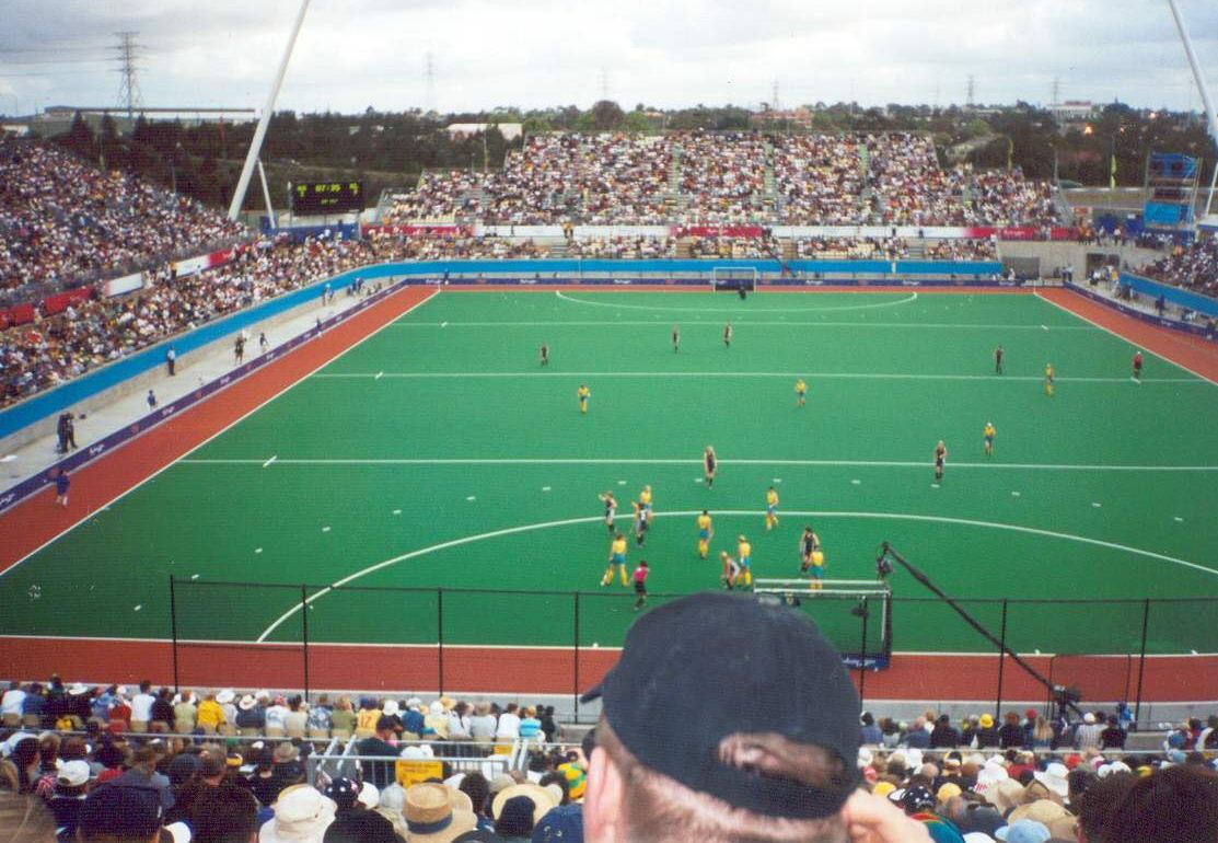 An Example Of A Hockey Field Sydney Olympic Park Centre 2000