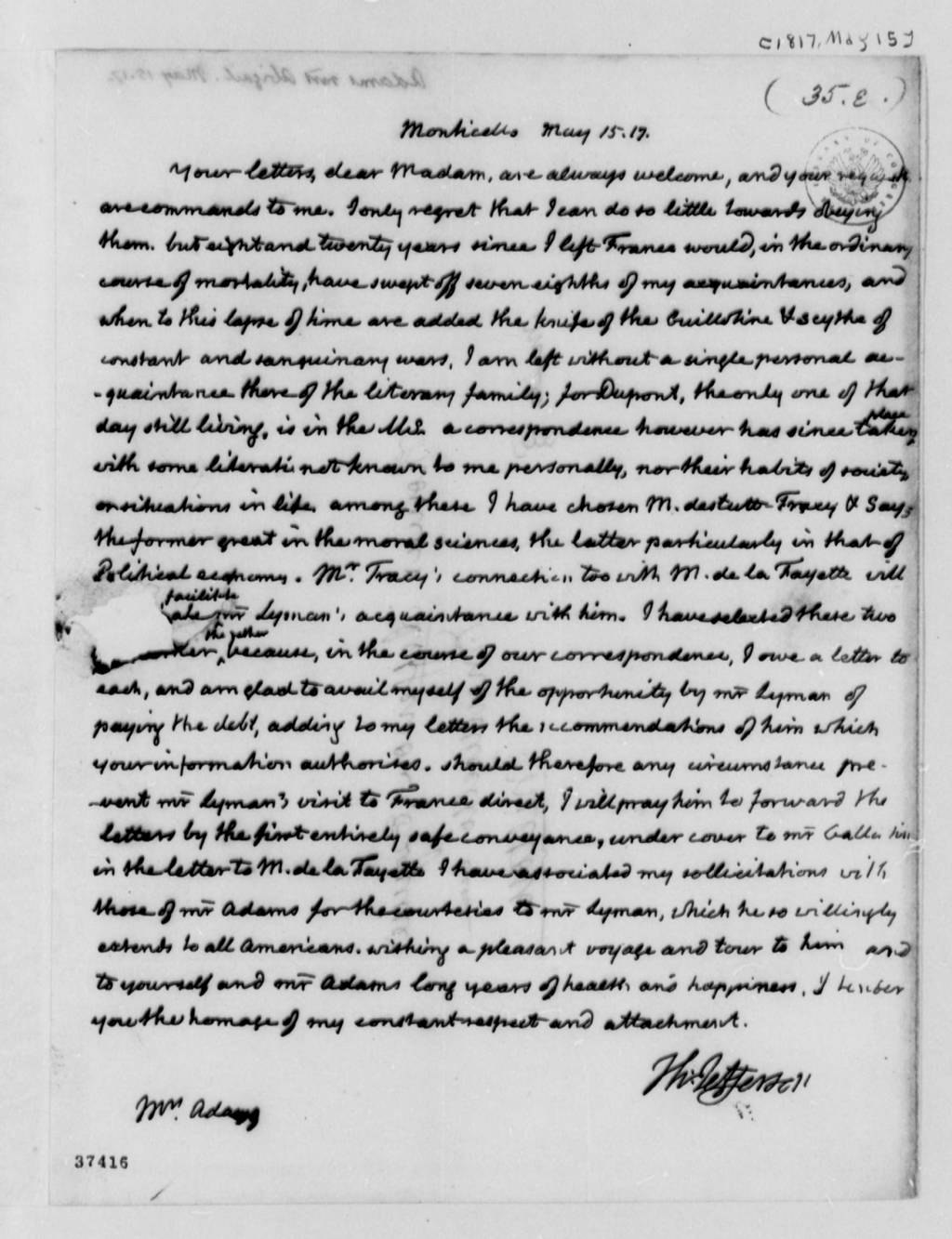 Abigail Adams By Tan Ly  Writework English One Of The Last Letters Between Former President Thomas Jefferson  And Abigail Adams