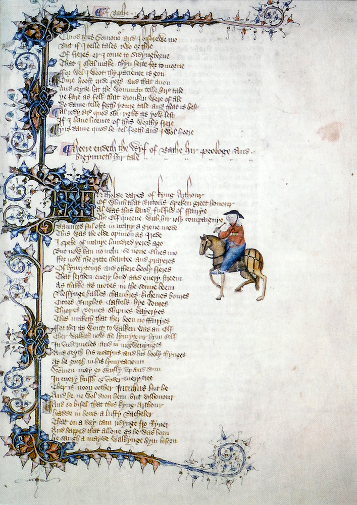 marriage in canterbury tales essay Canterbury tales--the marriage argument  reprinted in chaucer:  modern essays in criticism, ed by edward wagenknecht (london: oxford.