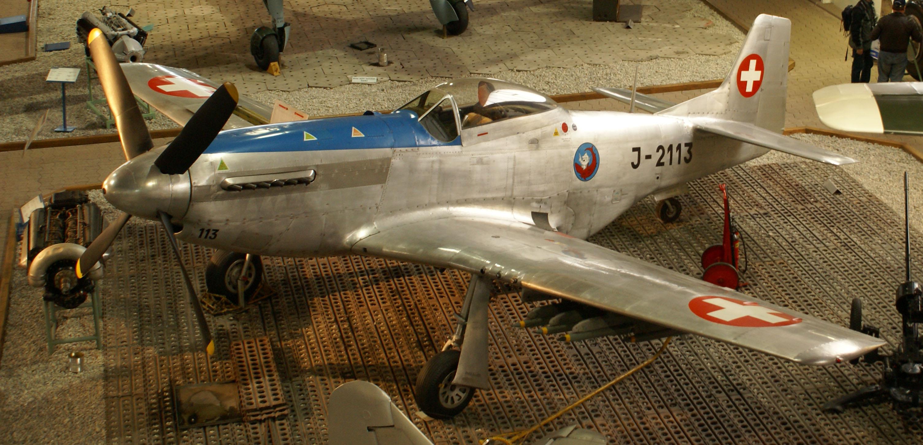 North American P-51 Mustang Combat Aircraft