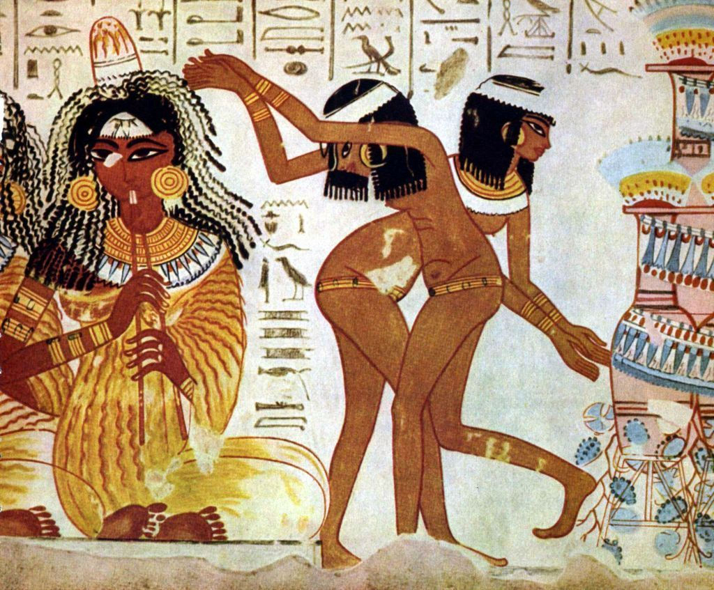 the benign development of ancient ian patriarchy writework dancers and flutists an ian hieroglyphic story hieroglyphs from left