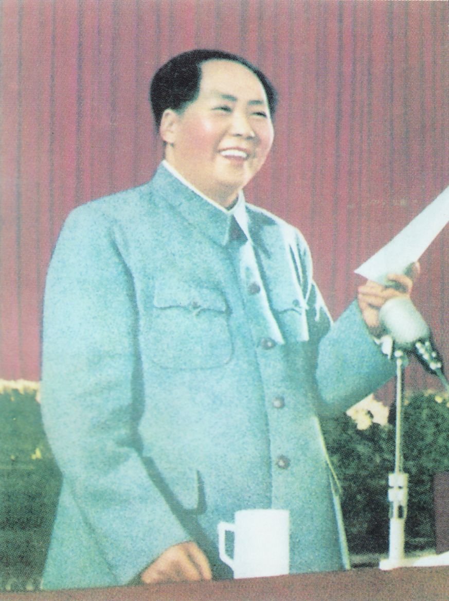 two of a kind this is an essay comparing the atrocities of adolf  english photo of mao zedong making a speech from quotations from chairman mao tse