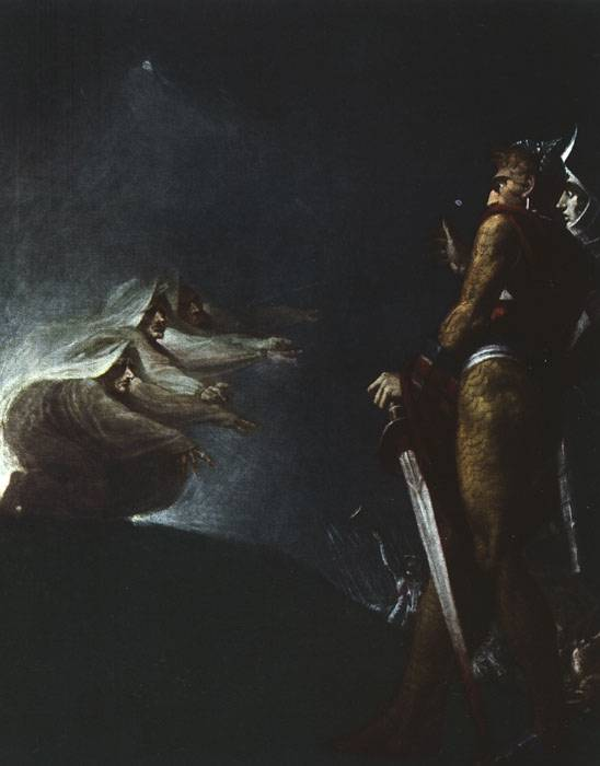 the ambition of three characters in the play macbeth that determined their fate Exploring human nature in macbeth macbeth is a play  the play, macbeth's ambition clouds  that they simply bemoan their fate as victims of macbeth,.