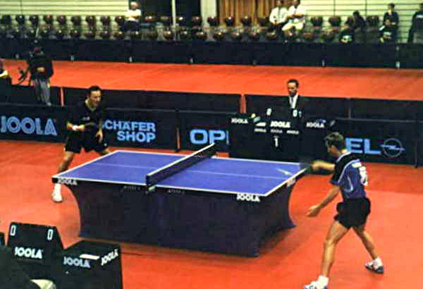 Essay about table tennis game