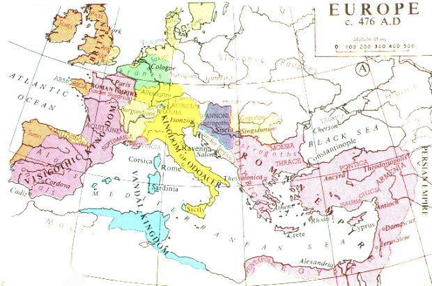 Essay on the fall of the western roman empire