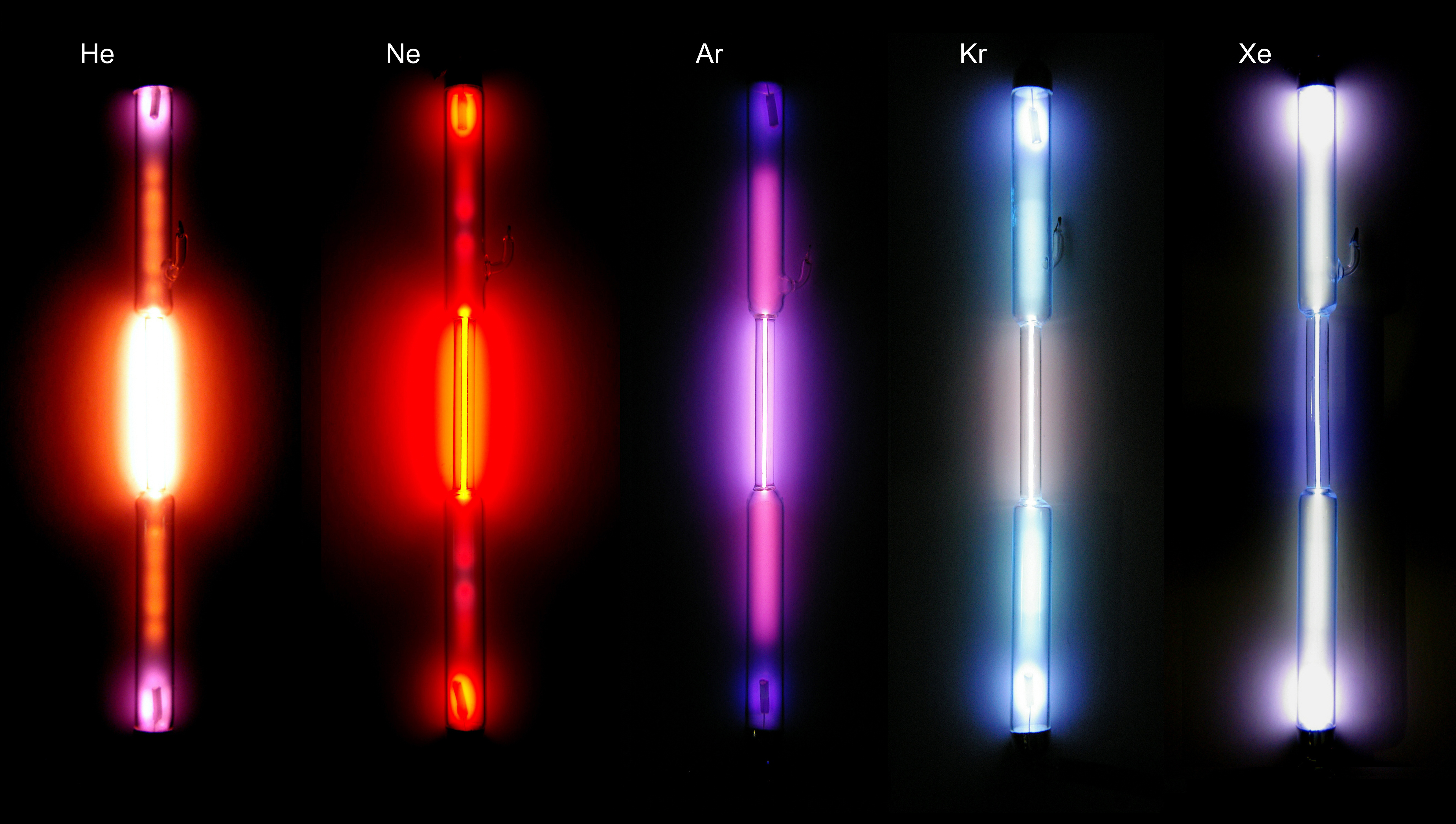 Xenon writework spectrum gas discharge tubes the noble gases helium he neon ne buycottarizona
