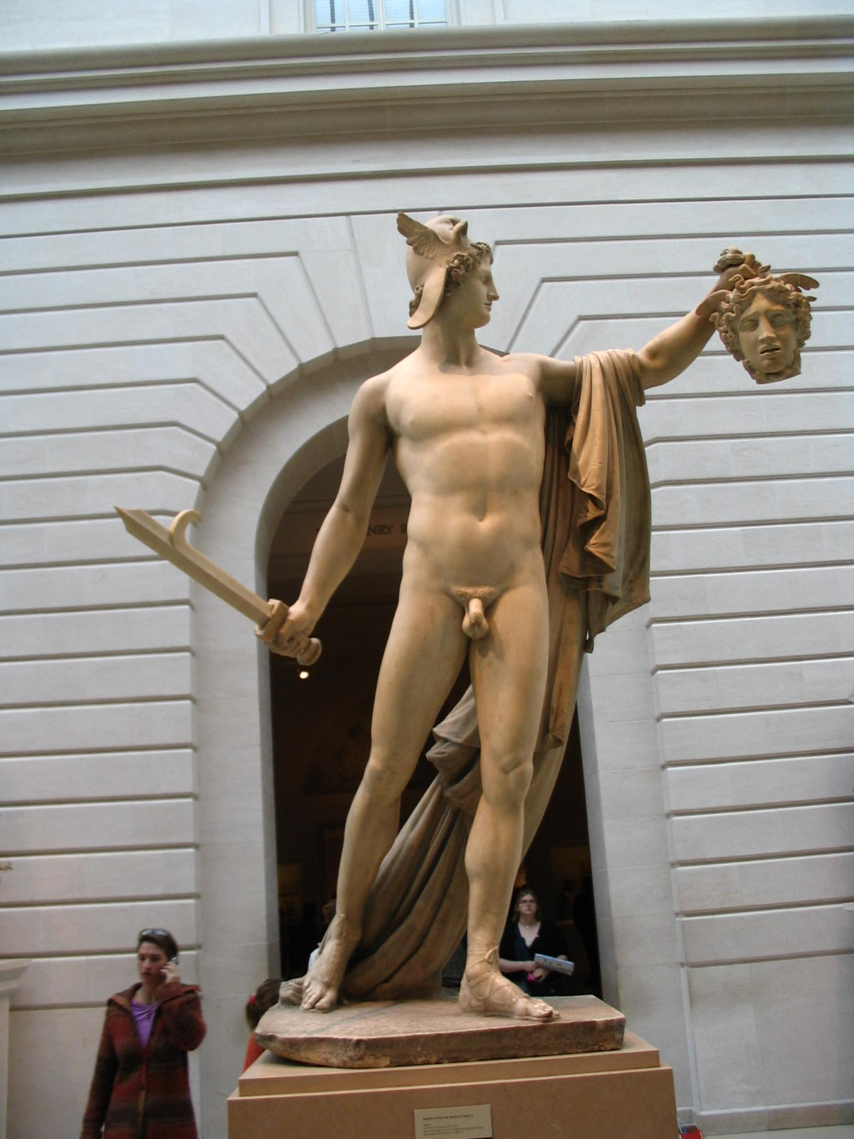 Canova S Perseus With Head Of Medusa Writework