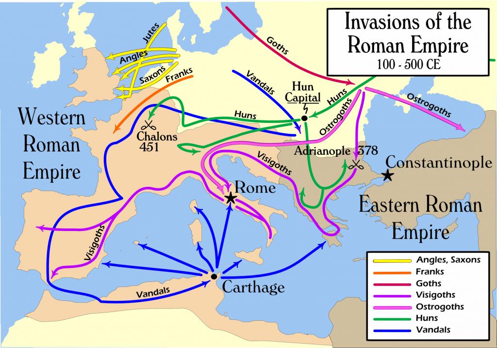 the fall of the roman empire essay