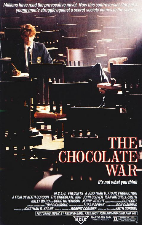 Essay about the chocolate war
