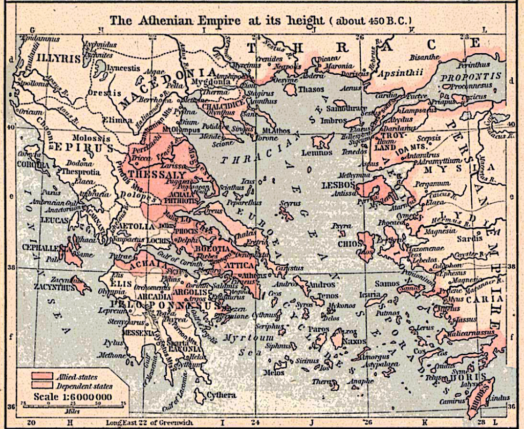 delian league to athenian empire essay Led by athens and sparta, the greek city-states were engaged in a great war with the persian empire at the beginning of the fifth century bc in 498 bc, greek forces sacked the persian city of sardis.