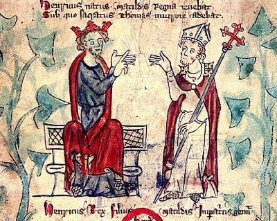 Thomas A. Becket/ King Henry II - WriteWork