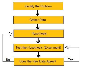 Best Essay Topics For High School English Flowchart Of The Steps In The Scientific Method Thesis Of An Essay also A Level English Essay Structure This Essay Is About The Scientific Method And How To Follow Its  Thesis Statement For Definition Essay