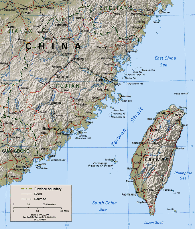 Economic integration as a peaceful solution to the china taiwan map of the taiwan strait gumiabroncs Gallery