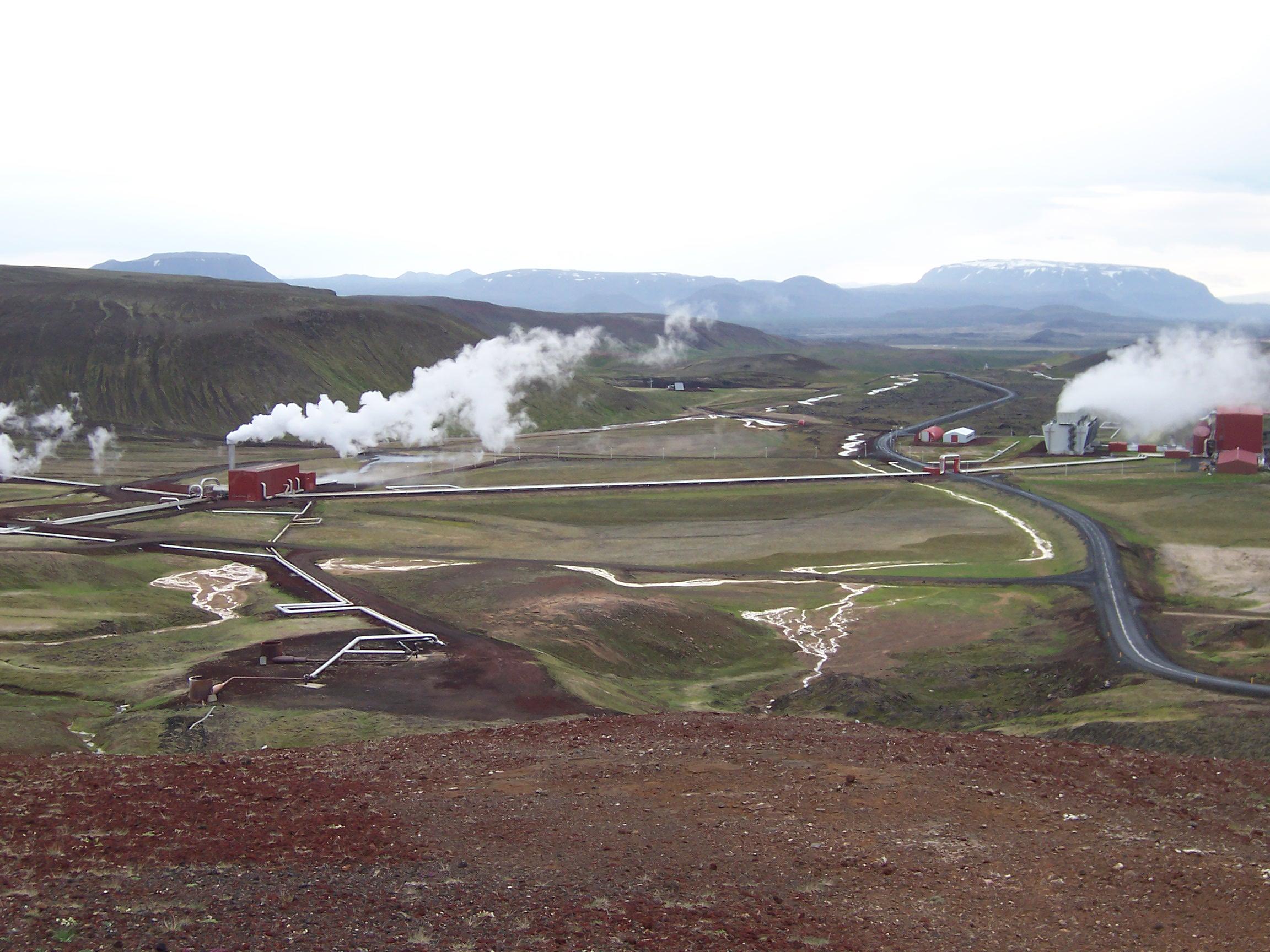 how does iceland utilise its volcanic activity essay