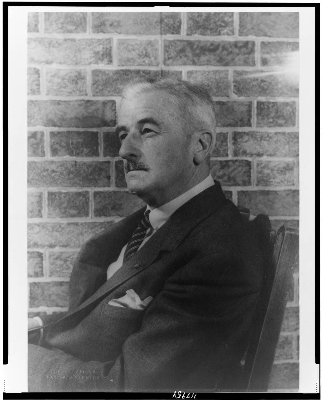 william faulkner William faulkner in front of his house in oxford, mississippi, 1947 it would be a  grave mistake for anyone trying to understand race in american.