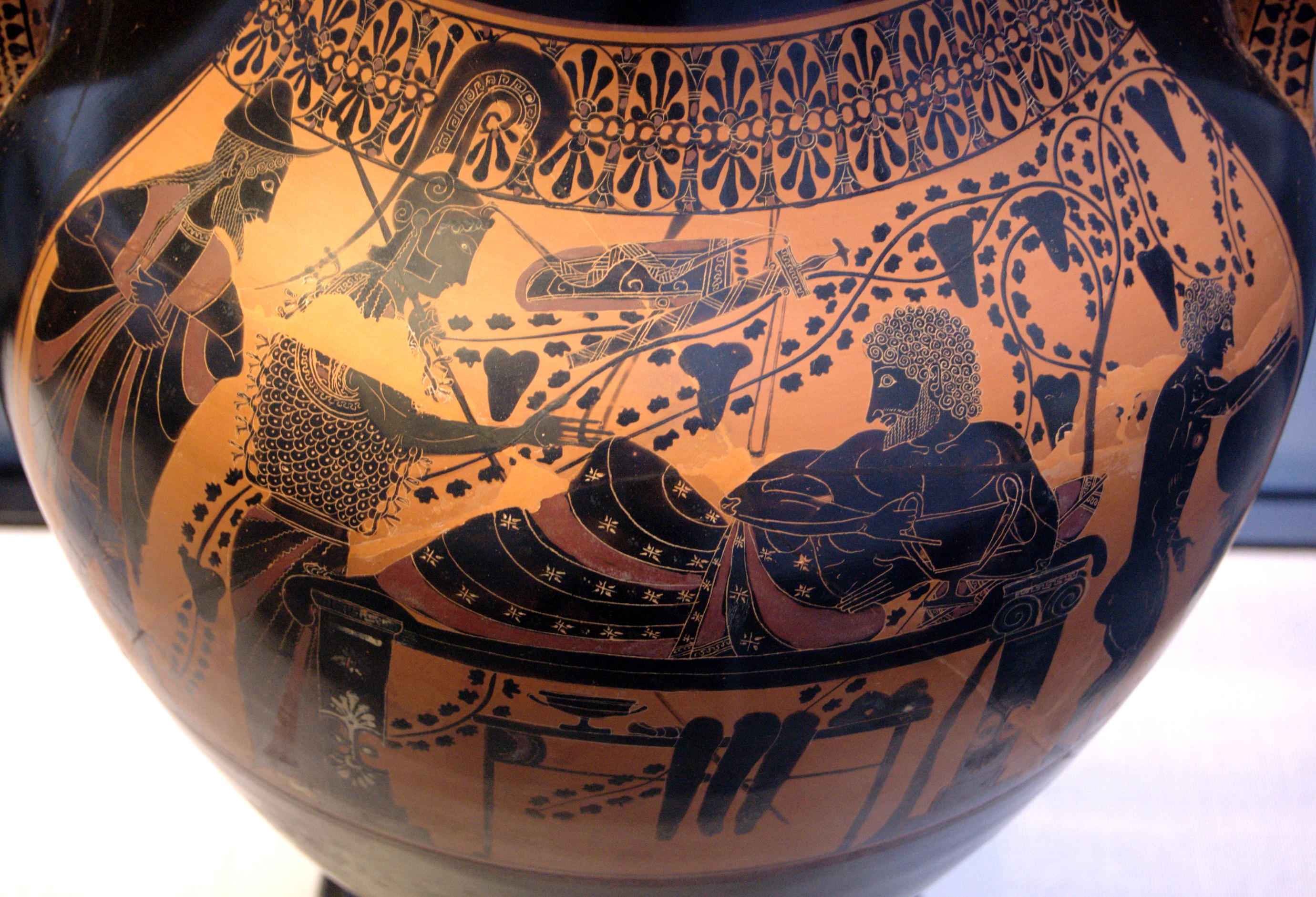 Euthymides three revelers writework side b black figure of attic bilingual amphora reviewsmspy