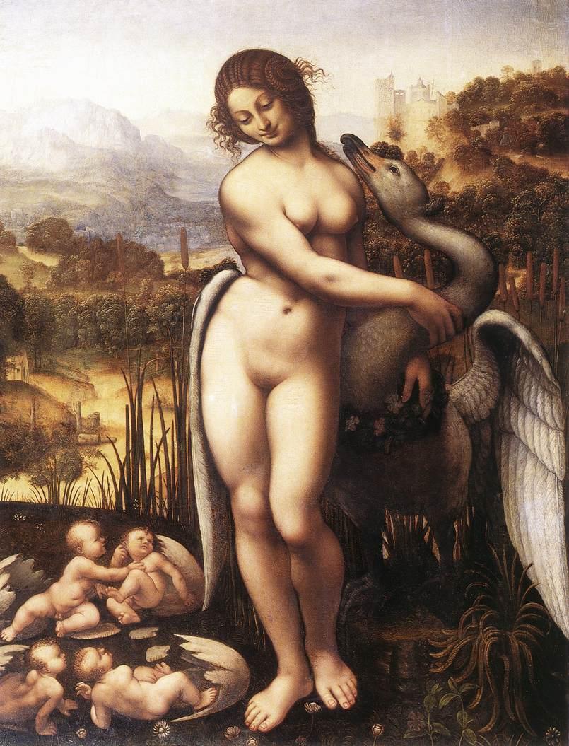 leda and the swan symbolism