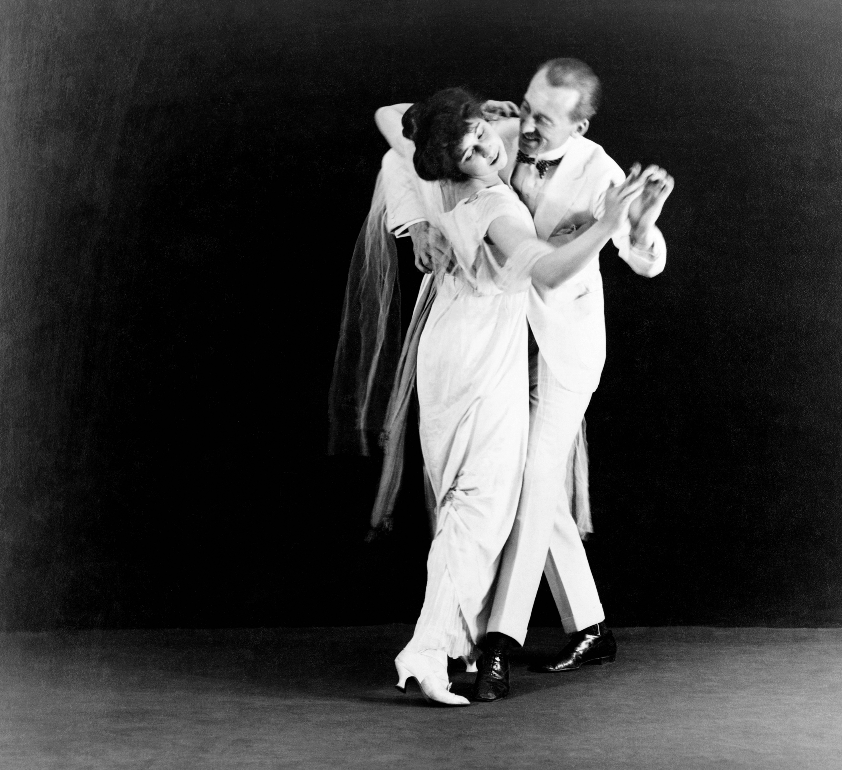 strictly ballroom  dancers vernon and irene castle gelatin silver print