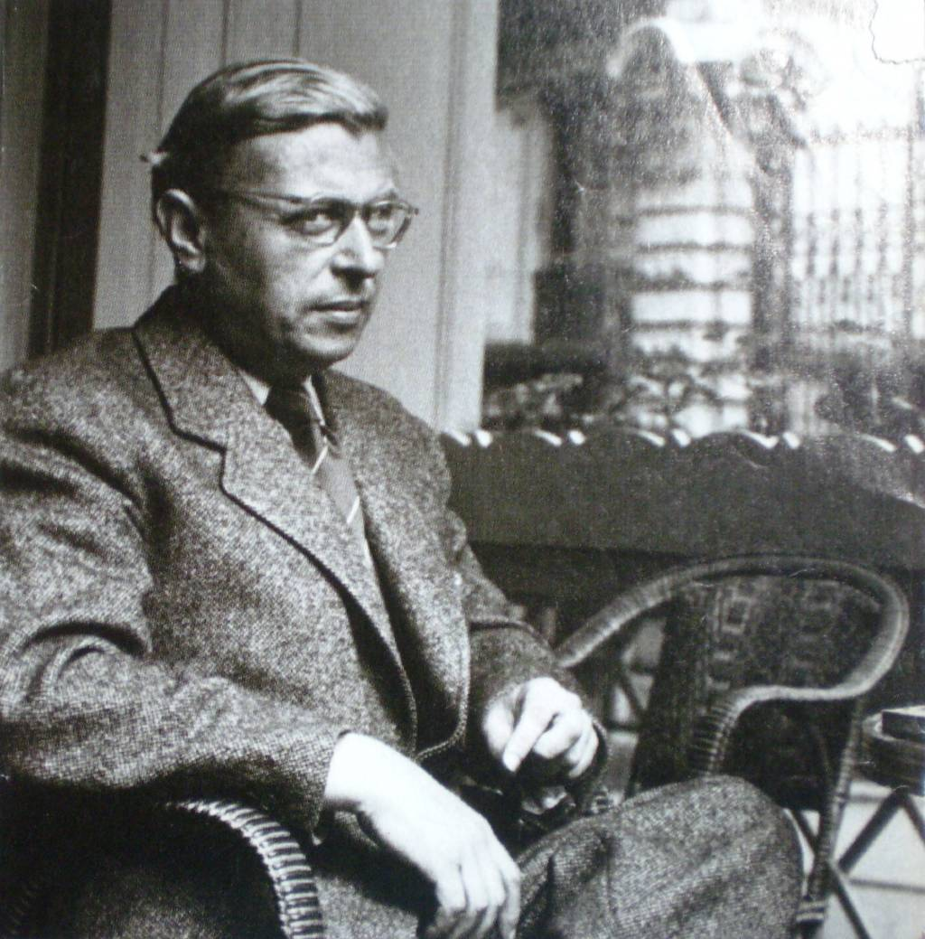 jean paul sartre and existentialism writework jean paul sartre um 1950