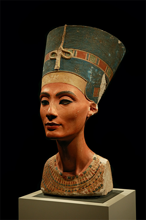 Bust Of Nefertiti Rosicrucian Egyptian Museum Writework