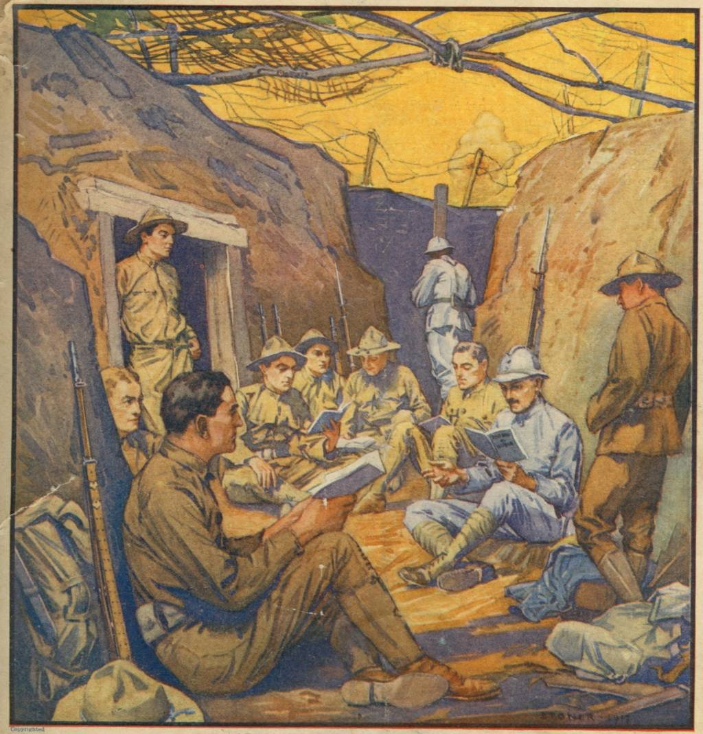 trench warfare: characteristics of life in the trenches essay Combat and the soldier's experience in the first world war  in a trench on podgora hill, gorizia at the italian front  wrote that life in the trenches was.