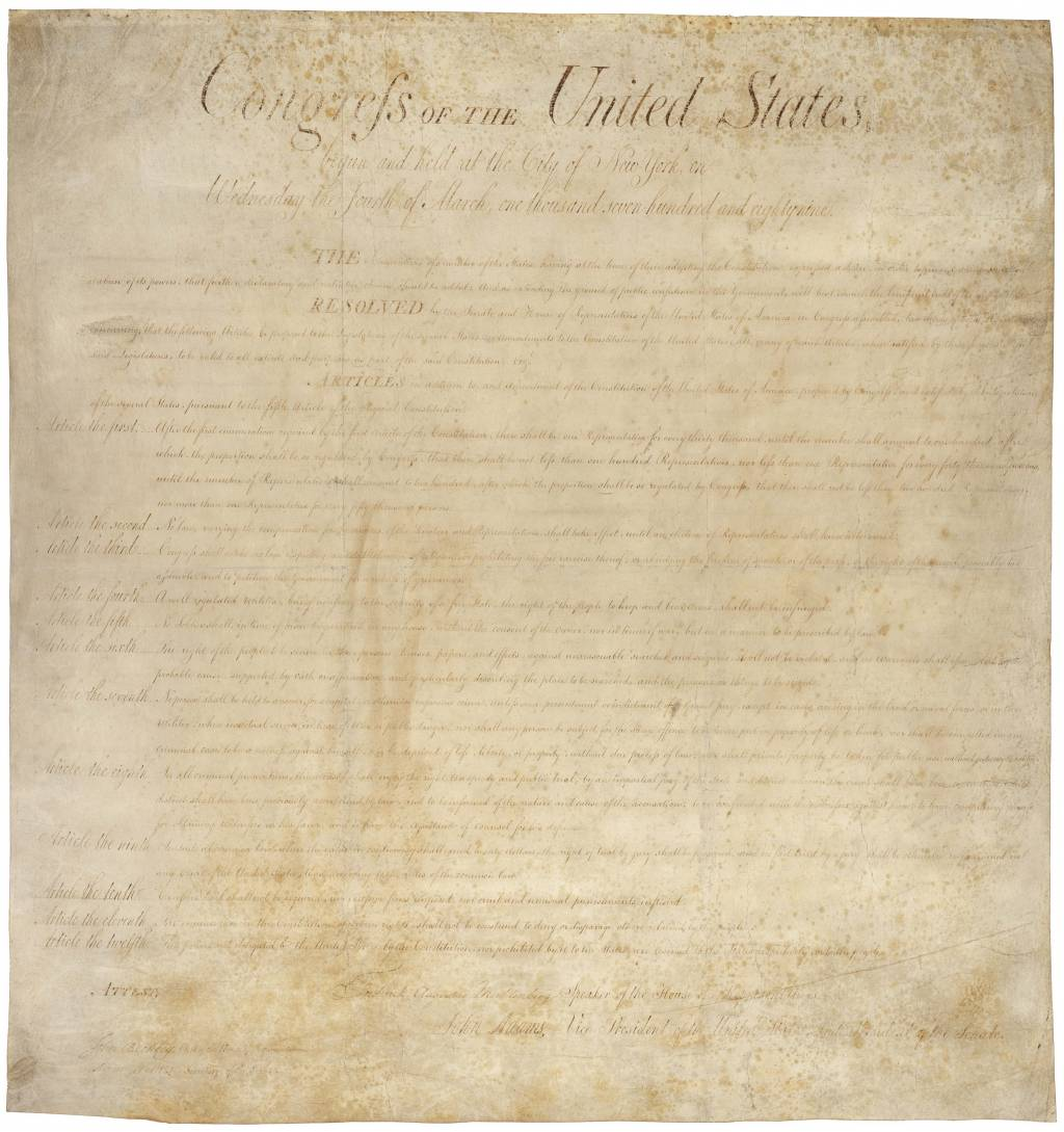 bill of rights essay  english the bill of rights the first ten amendments to the united states constitution