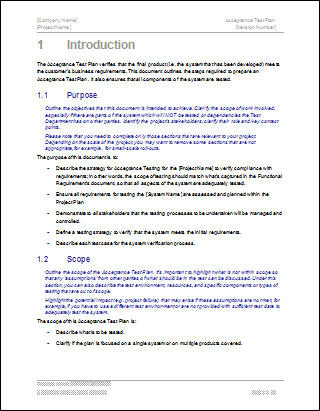 Math success plan writework for Software test policy template