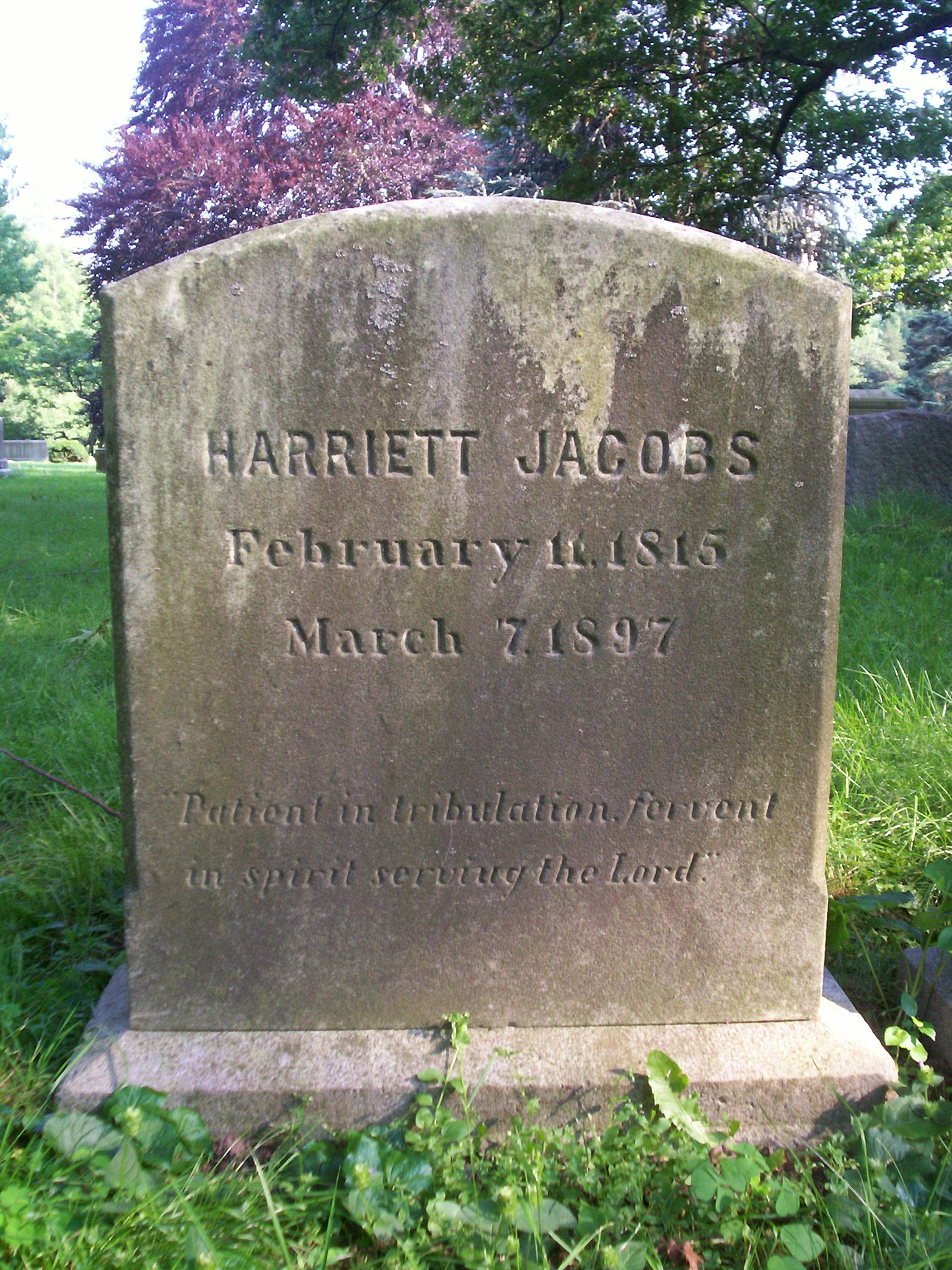 life harriet jacobs essays Harriet a jacobs buy share  critical essays the feminist perspective   also, douglass focuses on his life, but jacobs focuses on incidents in her life.