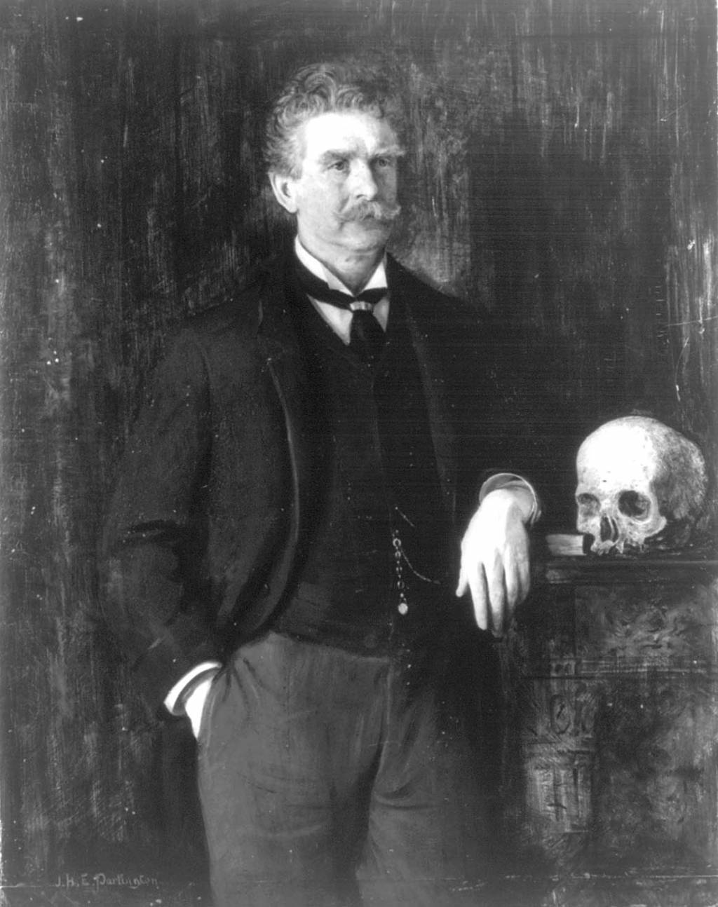 irony used in an occurrence at owl creek bridge by ambrose ambrose bierce portrait by j h e partington unknown date
