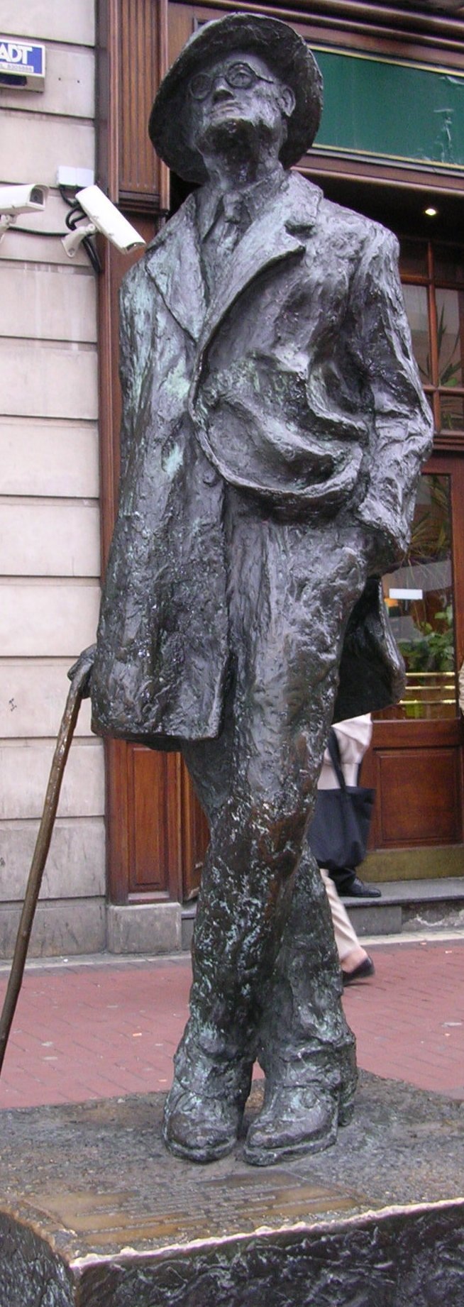 araby by james joyce identify and explain rhetorical and  james joyce statue next to o connell street in dublin