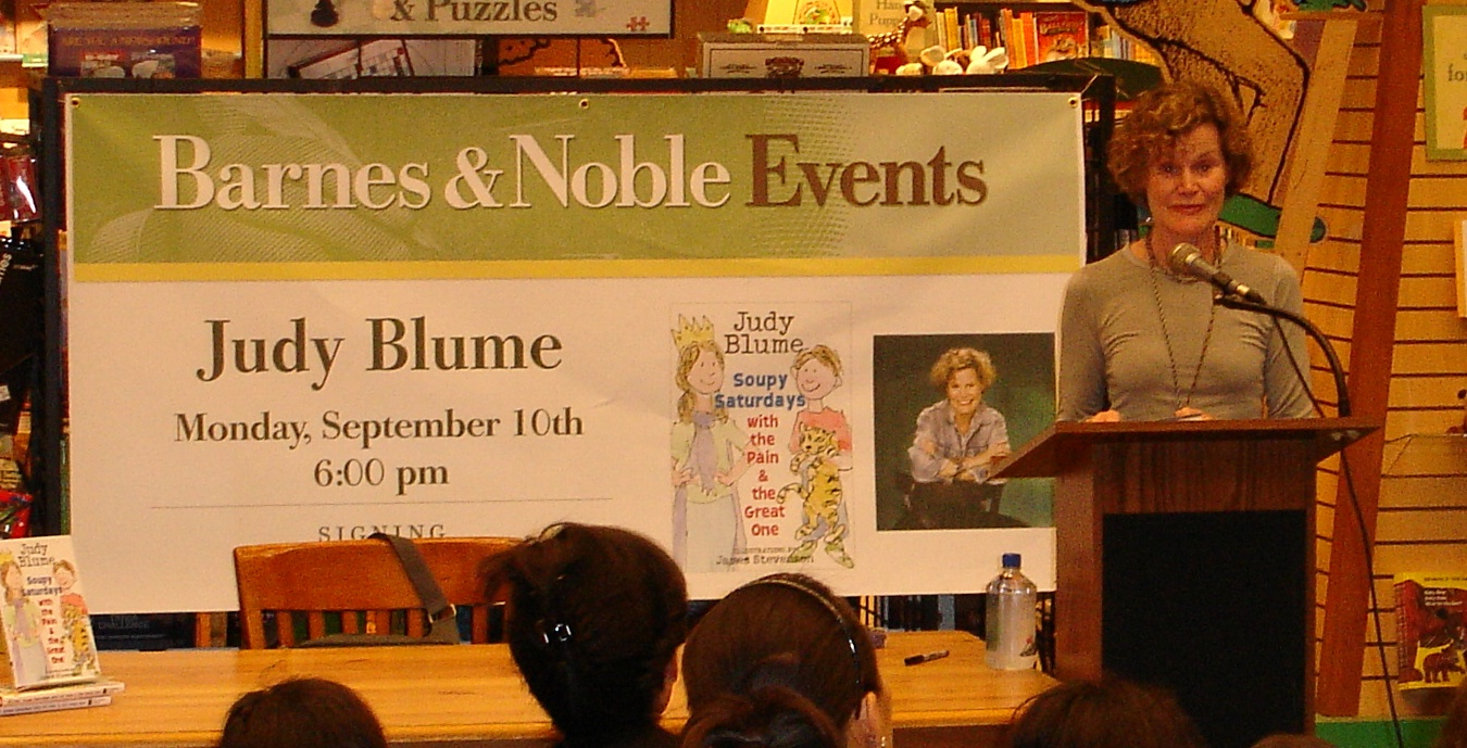 essay on judy blume If your students are reading judy blume's ''tales of a fourth grade nothing,'' you  can help them get as much as possible out of the book by.