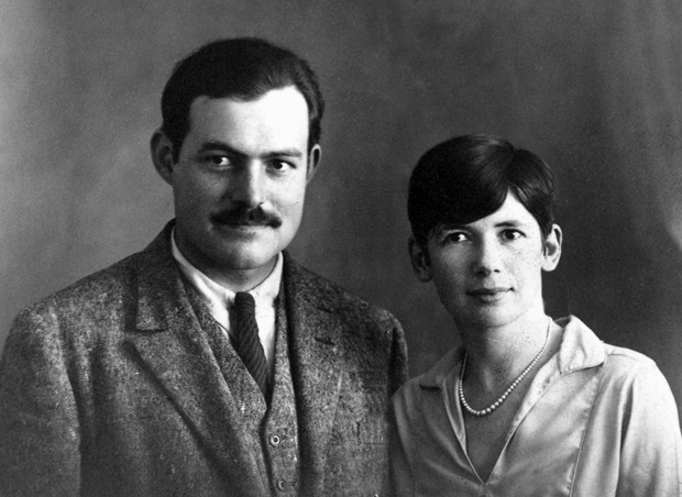 Ernest and Pauline Hemingway, Paris, ca. 1927.