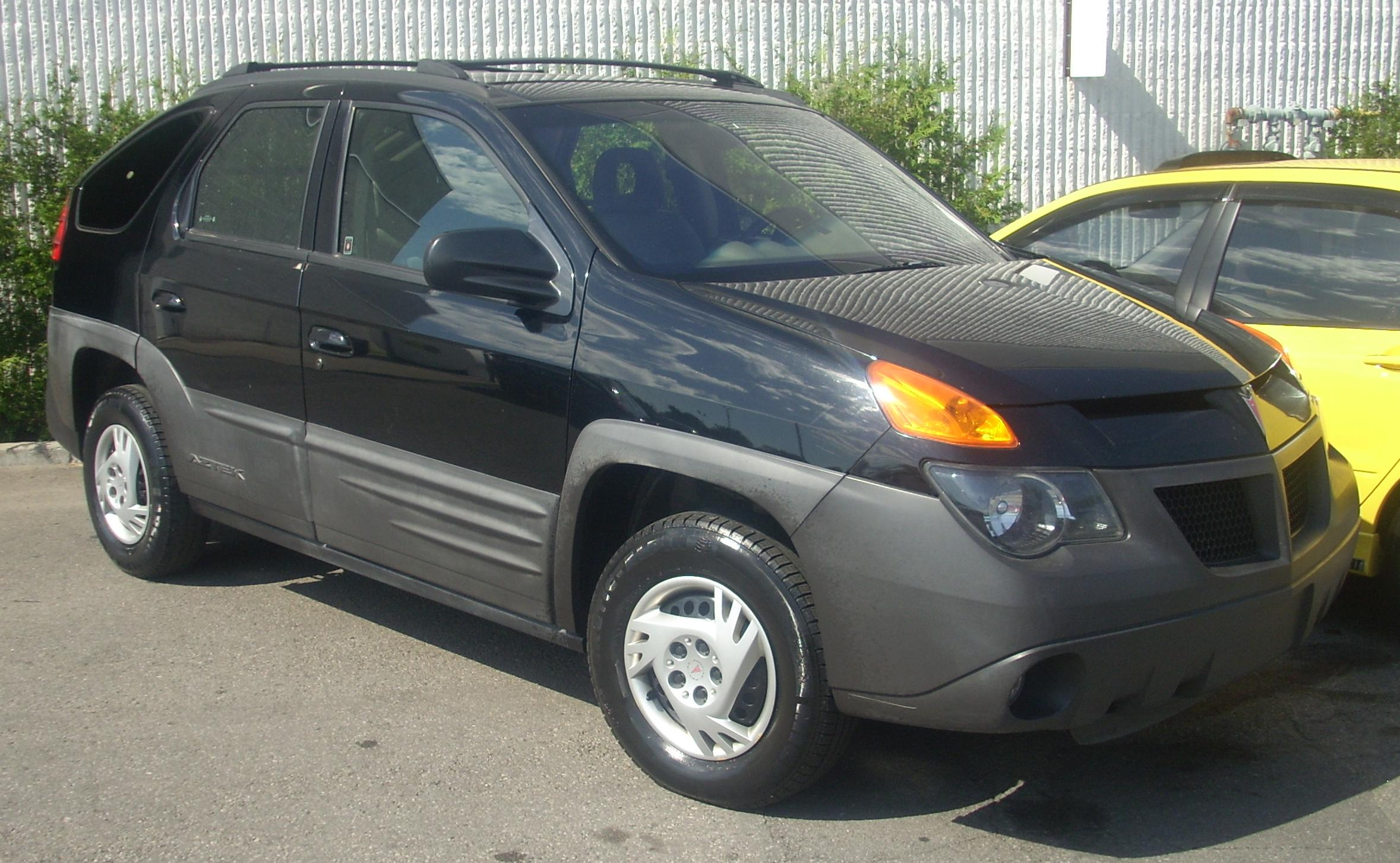 2001 Pontiac Aztek photographed in Montreal Quebec Canada. & Compare SUVs : Pontiac Aztec vs. Ford Escape - WriteWork