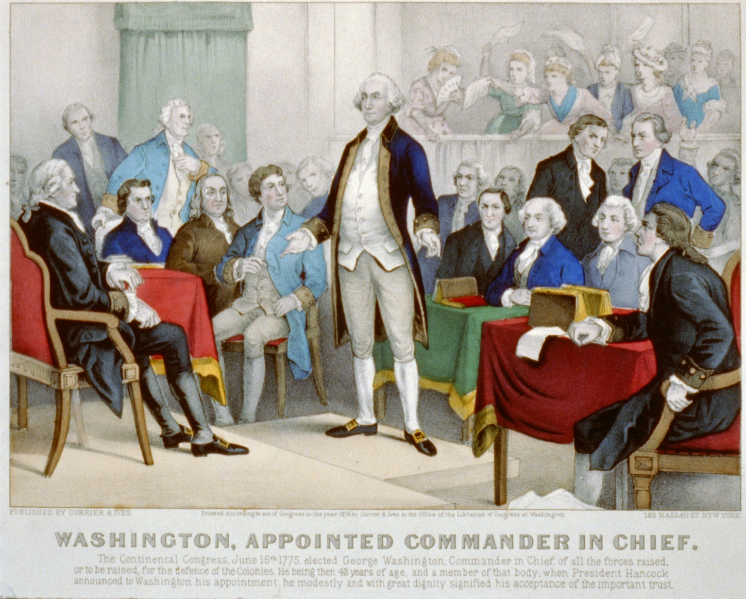George Washington as Commander of Continental Forces - WriteWork