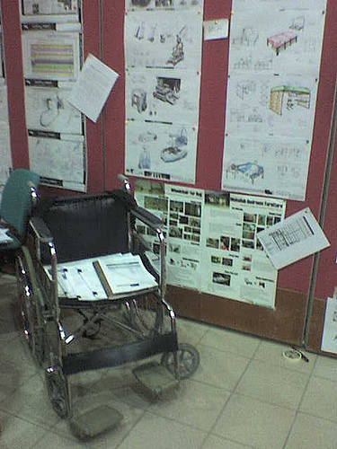 Wheelchair for a day essay