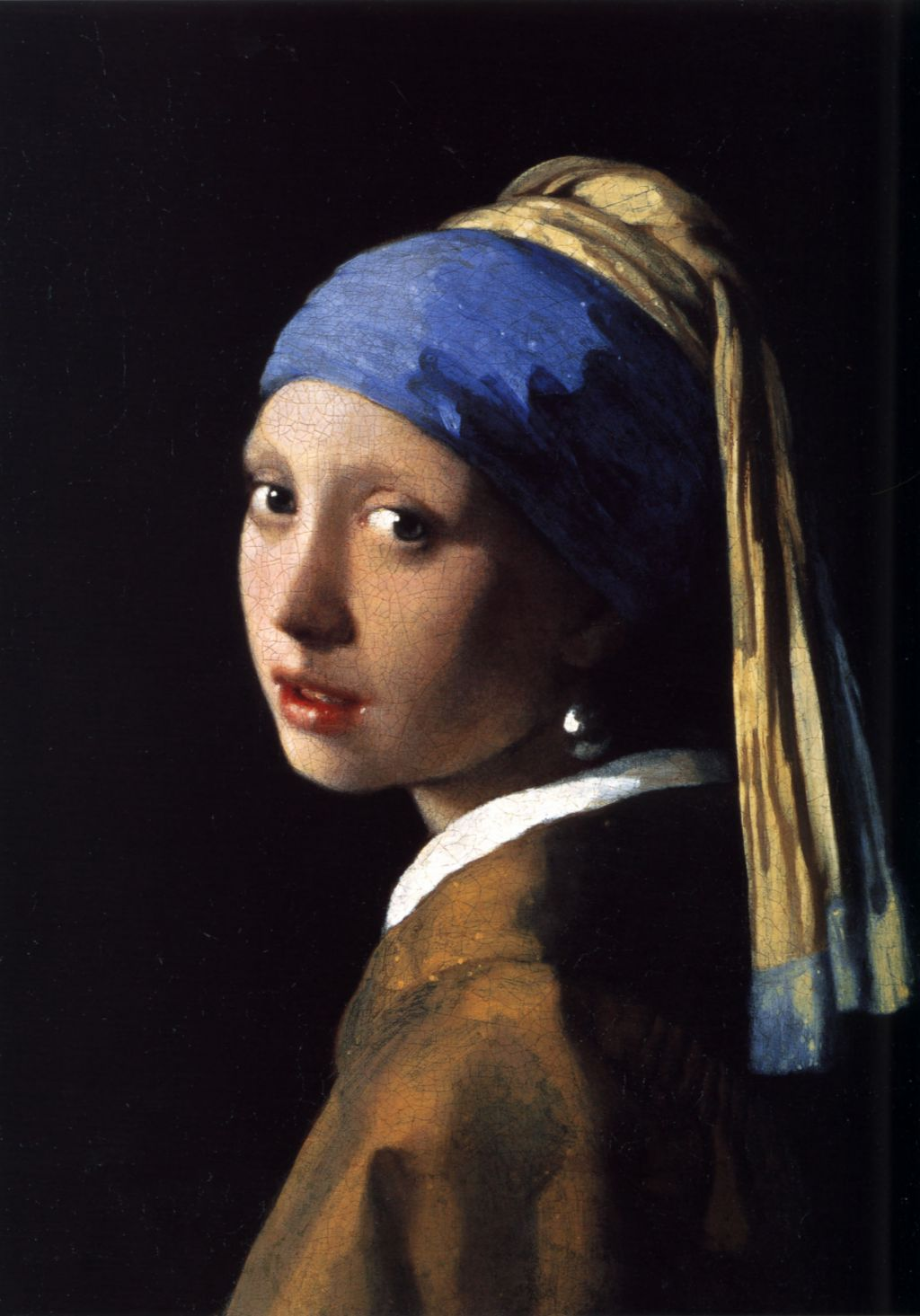 girl a pearl earring by tracy chevalier as a w and a vermeer s original painting girl a pearl earring from 1665