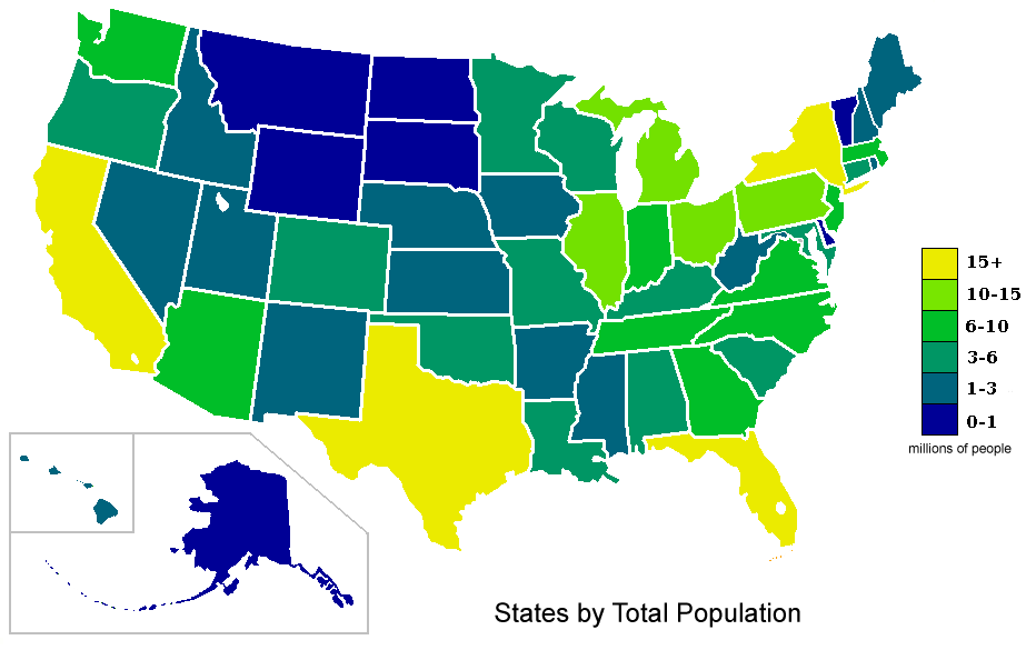 Colorblindness Are Men More Colorblind Than Women WriteWork - Us map size based on population