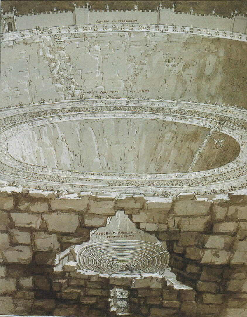 St Augustine In The Dante S Inferno Writework