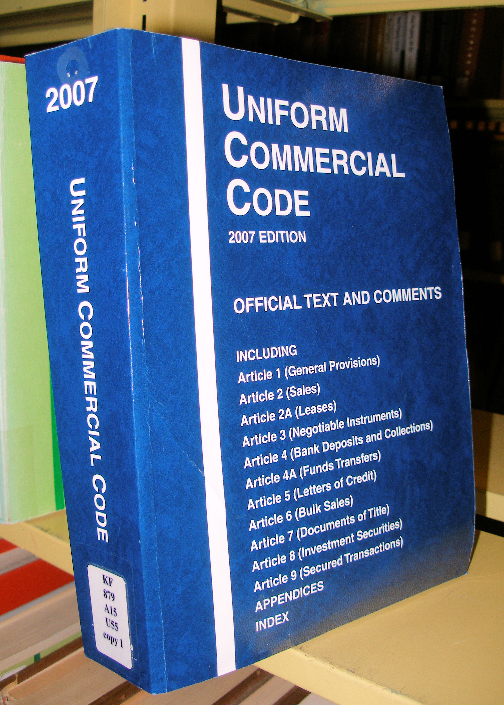 commerce clause ucc and ucita essay The uniform computer information transaction act (ucita) was designed by the  national  these dates back to the period of amity commerce treaty in  addition to   before ucc and ucita, the united states concern in  harmonizing.