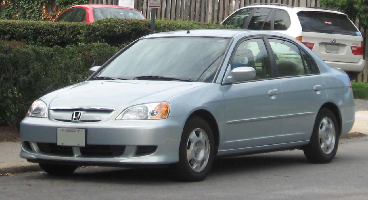 2003 Honda Civic Hybrid Photographed In College Park Maryland Usa Category