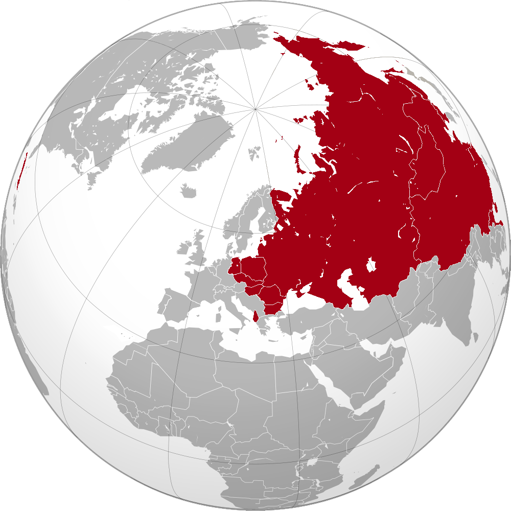 as long as stalin was running the soviet union a cold war was english map showing the maximum territorial extent of countries under the direct influence of the