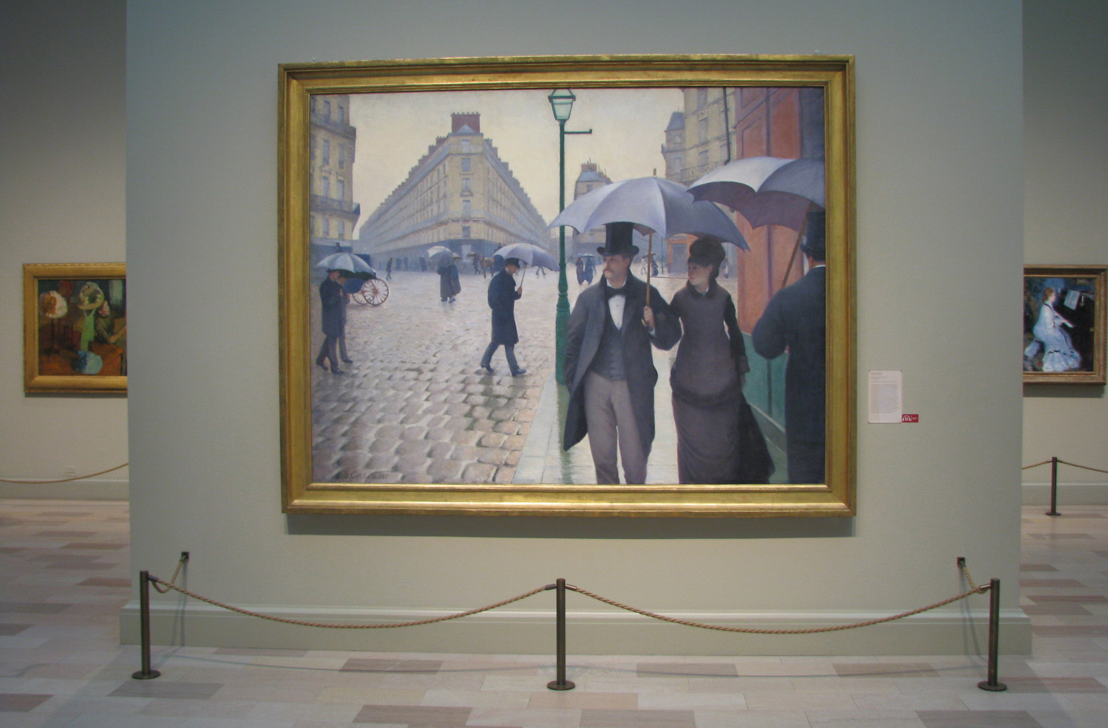 paris street rainy day gustave caillebotte this essay is english photo show the real size of paris street rainy day painting by