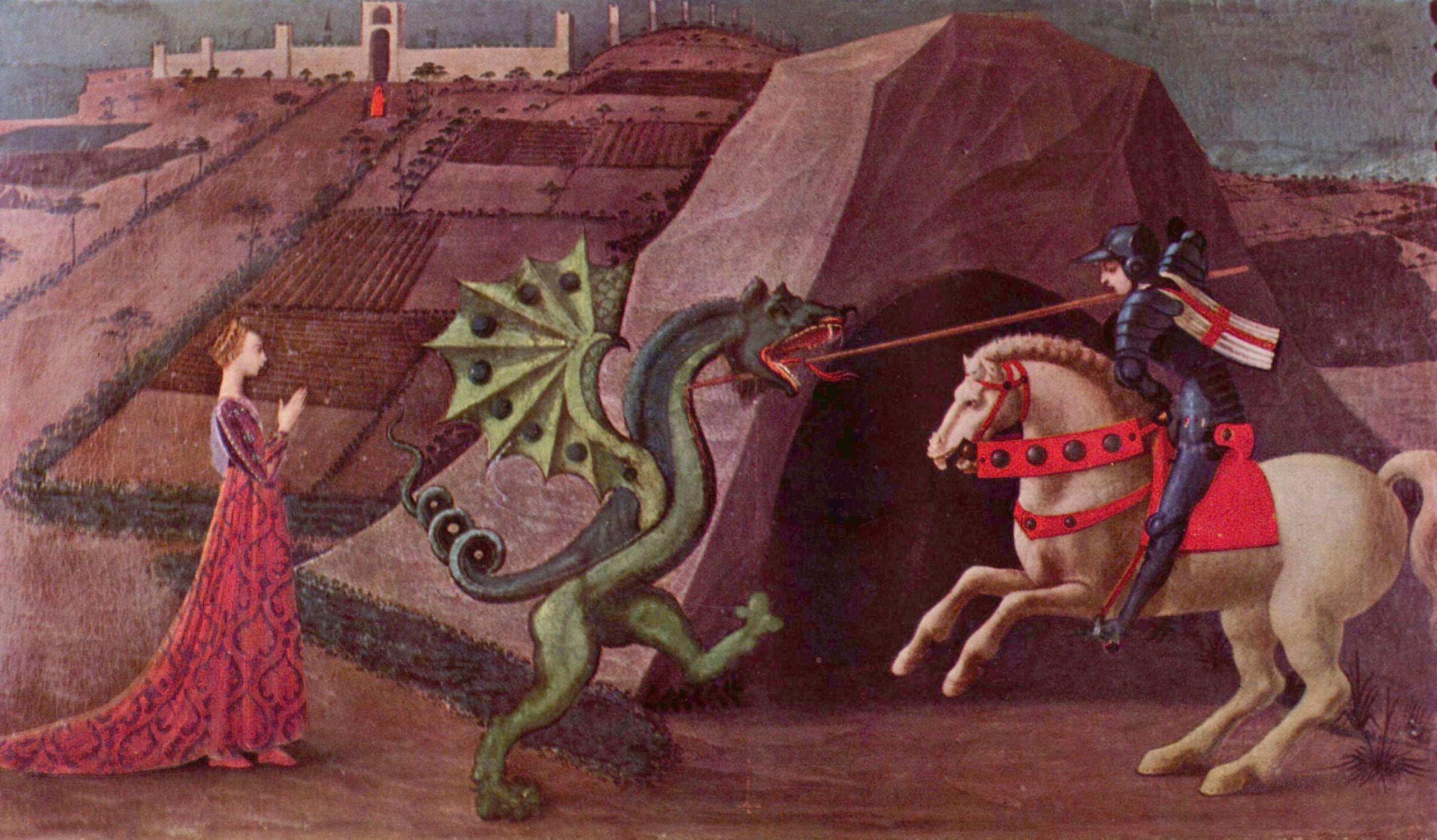 essay review on the short story the landlady by roald dahl writework paolo uccello s depiction of saint george and the dragon c 1470 a classic