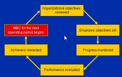 management by objectives essay Management by objectives planning is a very important aspect of success because if one fails to plan then there is no strategy towards success planning thus involves setting objectives that will guide towards that success.