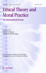 essay on moral theory