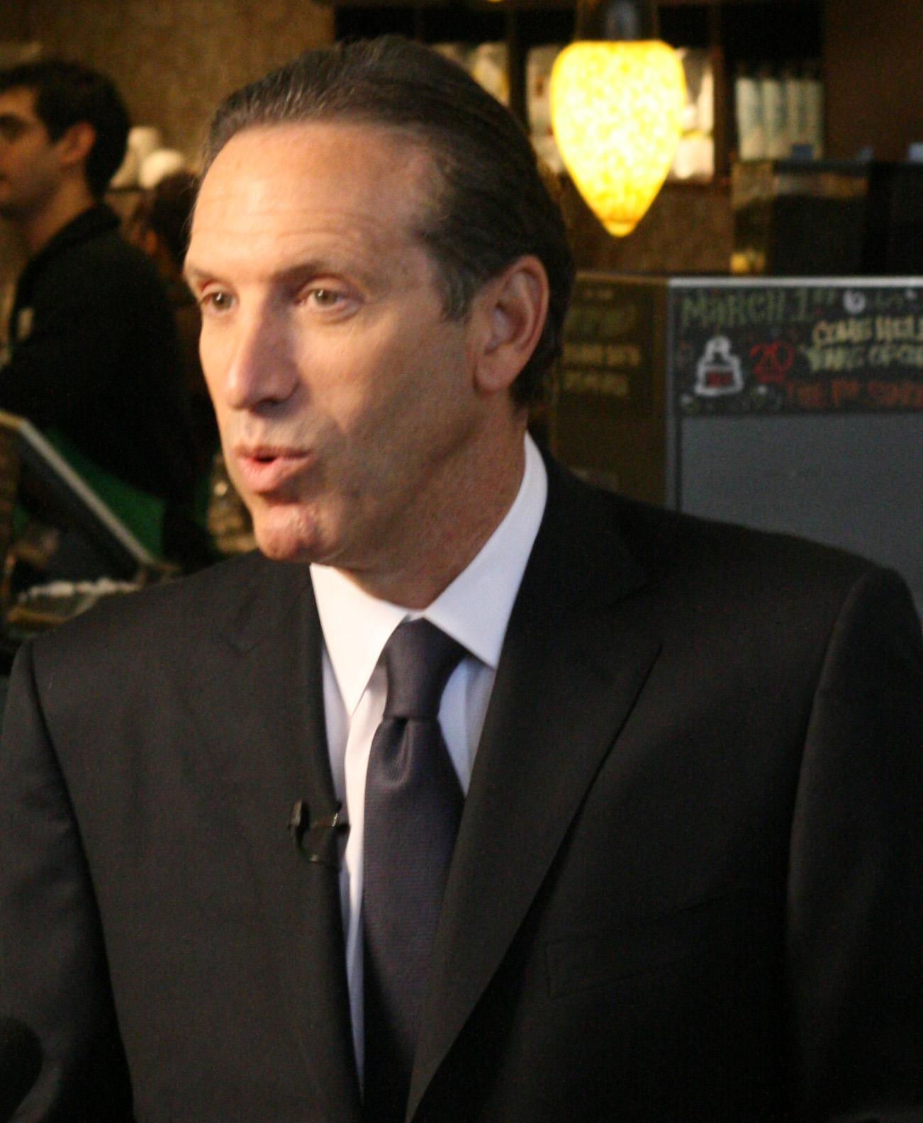 Investigation Of The Harvard Business School Case Study quotStarbucks Starbucks Chairman Howard Shultz Talks Media Vancouver Water Investigation Harvard Business School Case Study Starbucks