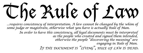 Rule Of Law And What Are Its Benefits And Defects