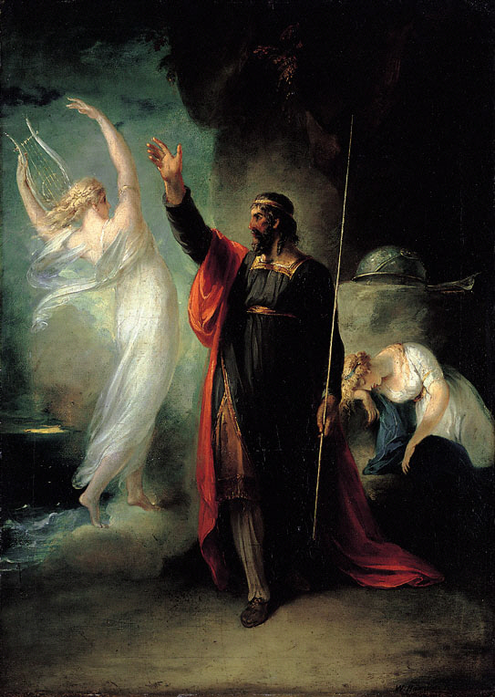 the tempest the theme of revenge writework english prospero and ariel from shakespeare s the tempest 1797 by william hamilton