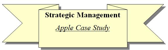 apple case study strategic management